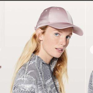 Lululemon Baller Hat Satin